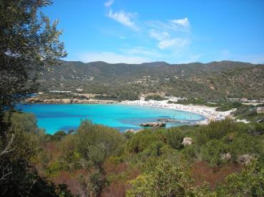 South Sardinia beach