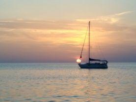 Pistis' sunset