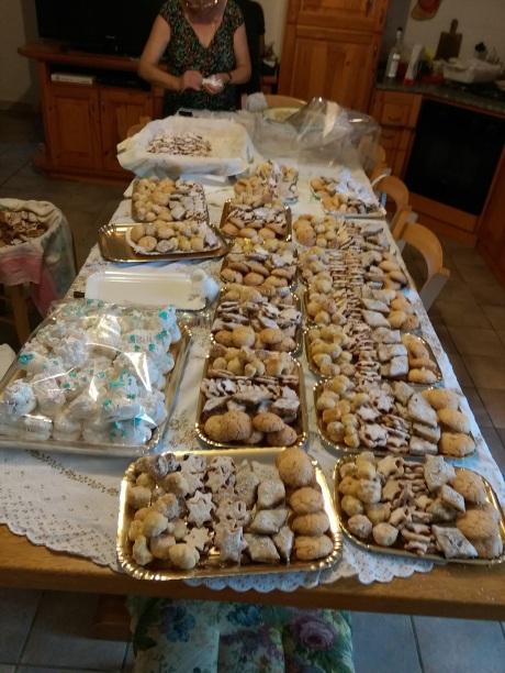 Home made biscotti