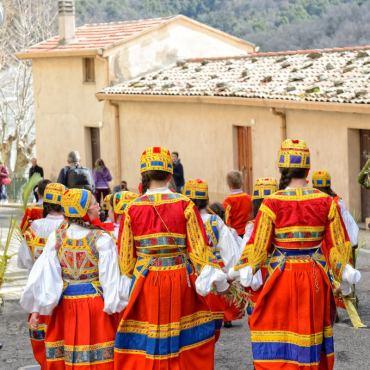 Desulo: Domenica delle Palme Photos of Franca Loru